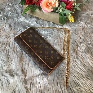 Auth Louis Vuitton Pochetta Twin GM